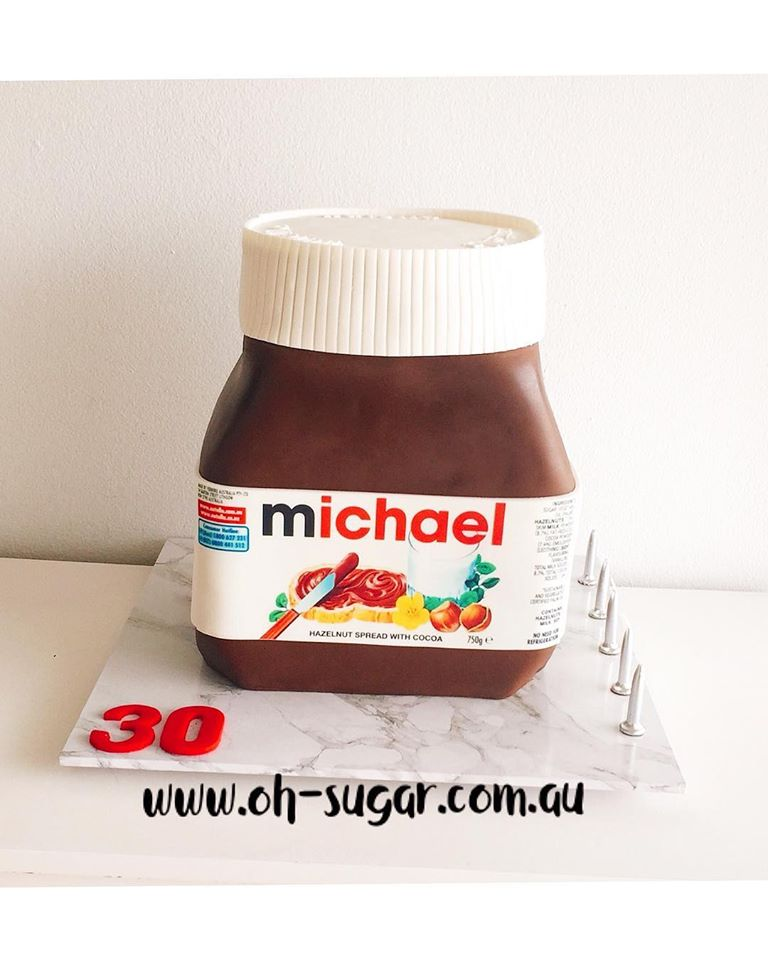 Nutella Jar