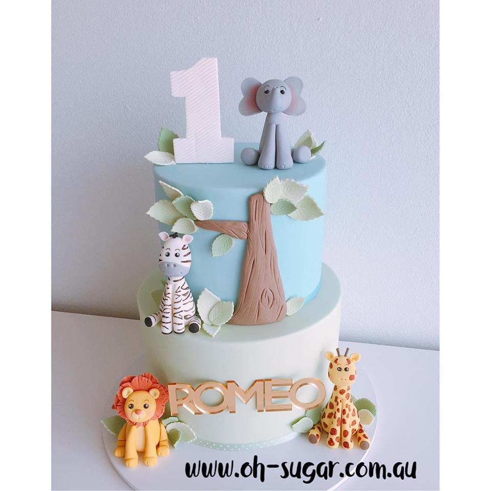 Romeo Jungle Cake