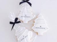 Tree Logo Cookies